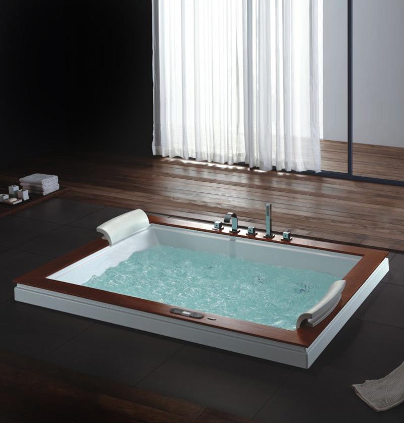 Vasca idromassaggio adattarla al nostro bagno itacanews - Vasca da bagno rotonda ...