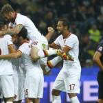 La Roma vince e resta prima, non mollano Juve e Napoli